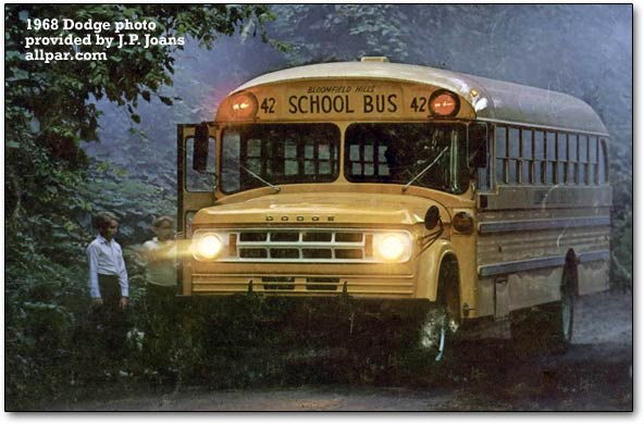 1968 dodge school bus