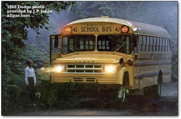 Dodge School Bus