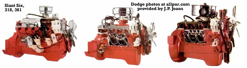 1968 dodge engines