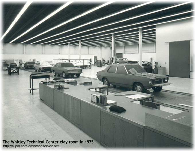 Chrysler design studio