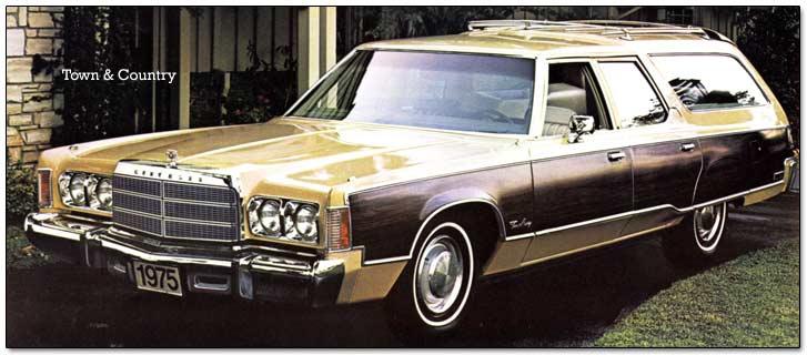 1974 And 1975 Chrysler Cars