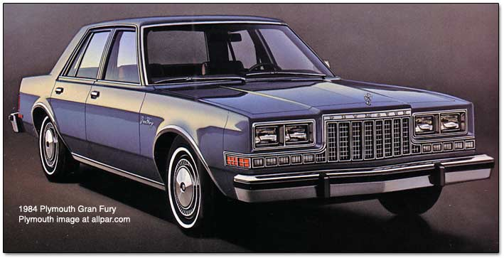 1984 plymouth gran fury