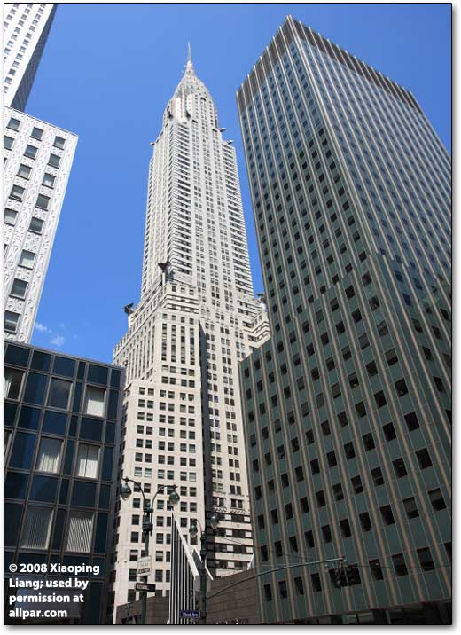 History Of Walter P Chrysler And The Chrysler Building