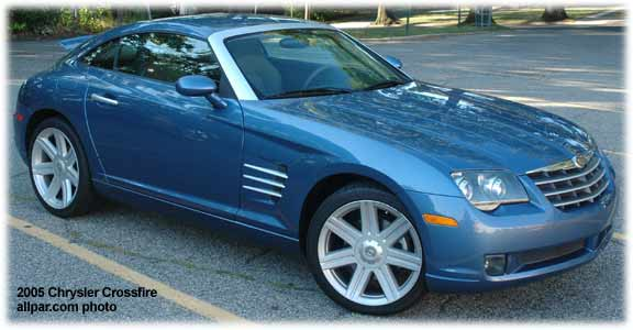 Chrysler Crossfire 2004. Chrysler Crossfire and SRT-6