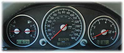 chrysler crossfire gauges