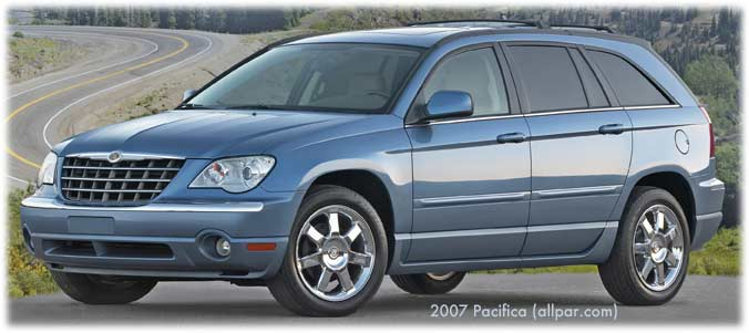 Car reviews: 2007-2008 Chrysler Pacifica