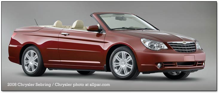 2008 2010 Chrysler Sebring Convertible Cars