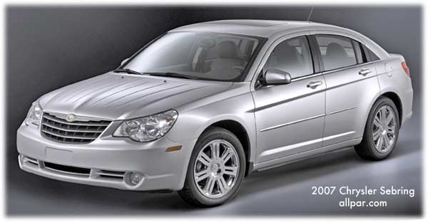 2007 2010 chrysler sebring cars before the 200 rh allpar com 2007 Chrysler Sebring Chrysler Sebring Coupe