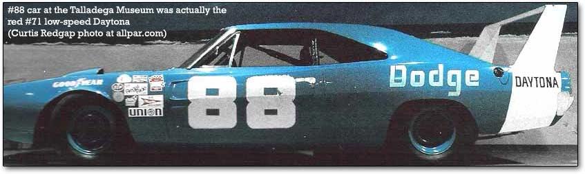 #88 Dodge Charger Daytona