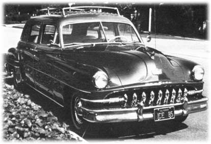 front of the desoto suburban cars
