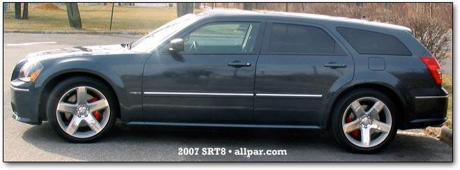 2007 Dodge Magnum SRT8 car reviews