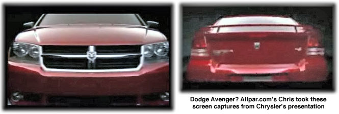 2008 Dodge Avenger Cars Specs And Stats