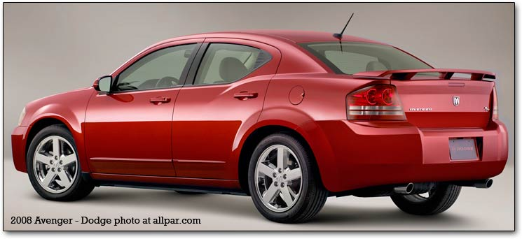 2008 avenger. Seven-day Dodge Avenger test drive results.