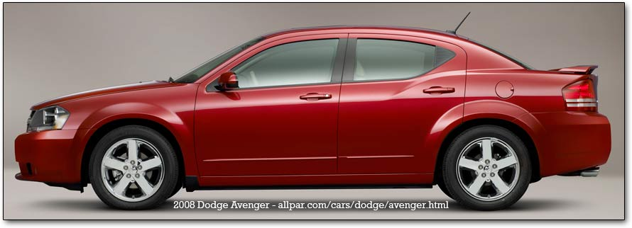 2008 Dodge Avenger production cars