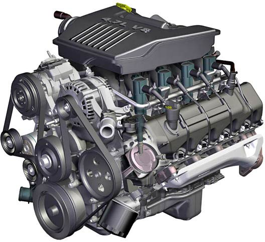 """Next Generation"" and ""semi-Hemi"" V8 Engine (Dodge - Jeep"