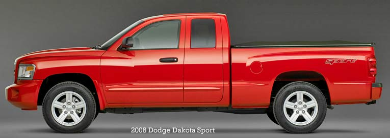 The 2016 Dodge Dakota pickup truck