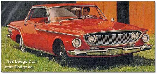 1962 Dodge Dart cars