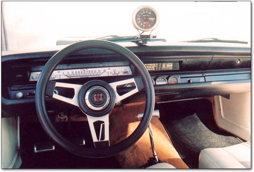 Mr. Norm's dashboard