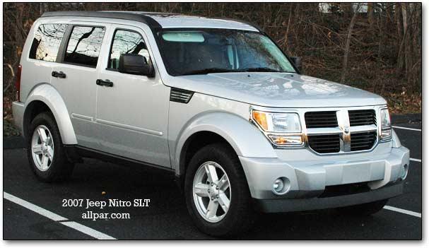 dodge nitro test drive car reviews. Black Bedroom Furniture Sets. Home Design Ideas