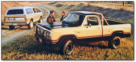 1977 Plymouth And Dodge Trucks And Vans Including