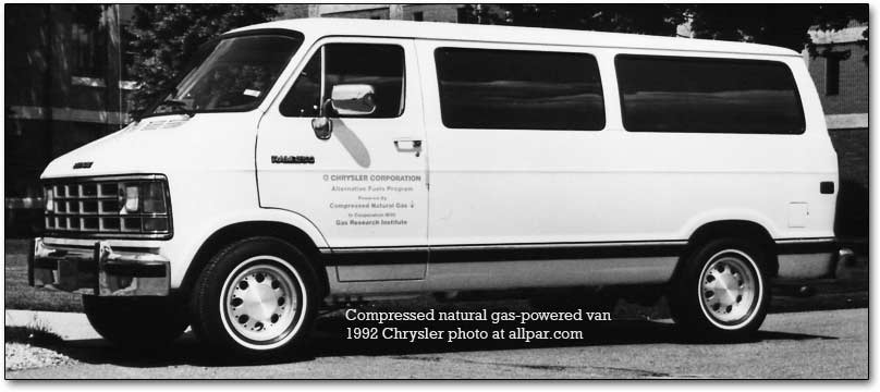 cng powered van