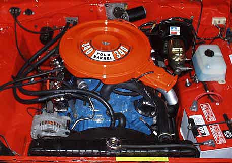 chrysler 340 V8 engine