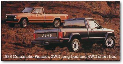 Jeep Laredo 2008 For Sale Jeep Comanche pickup trucks, 1986-1992