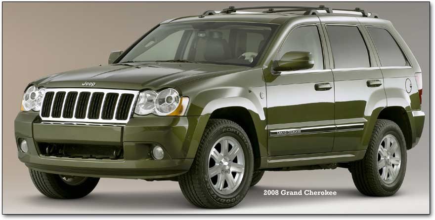 Jeep Grand Cherokee. 2008 grand cherokee- front