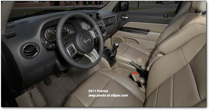 Jeep Patriot Seat Height