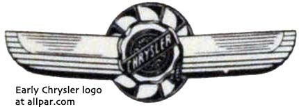 early Chrysler logo