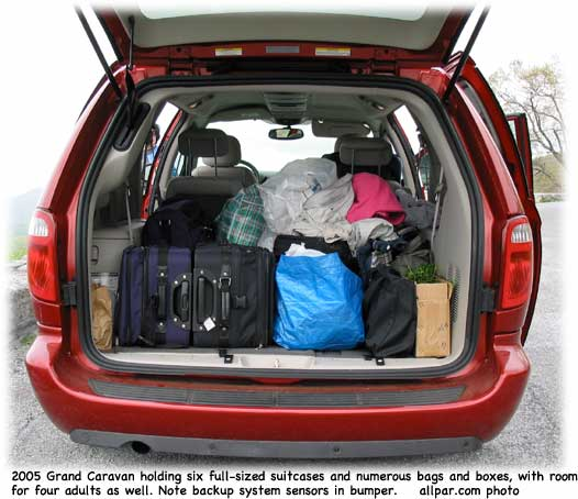 2005 Dodge Grand Caravan Minivan Car Review