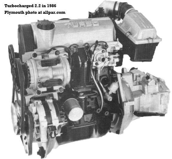 2.2 turbo engine