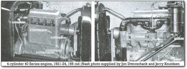nash four cylinder engine