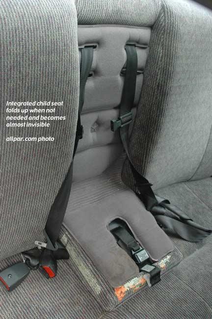 Child Seat on 1995 Dodge Truck
