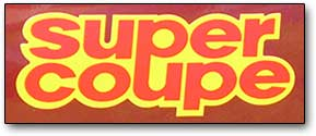 Volare Super Coupe logo