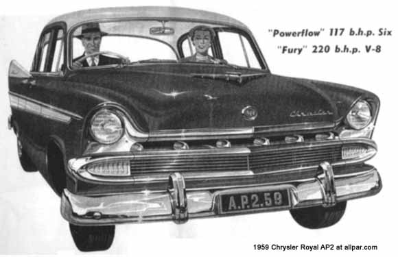 chrysler royal
