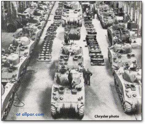 chrysler tank