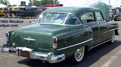 1953 Chrysler Windsor cars