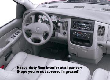 2003 2009 dodge ram heavy duty 2500 and 3500 detailed - 2004 dodge ram 1500 interior accessories ...
