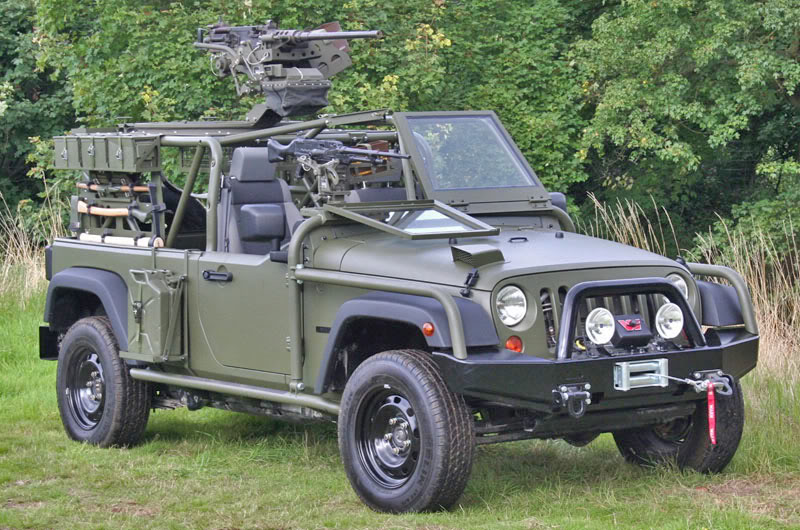 Jeep J8 Light Patrol Vehicle