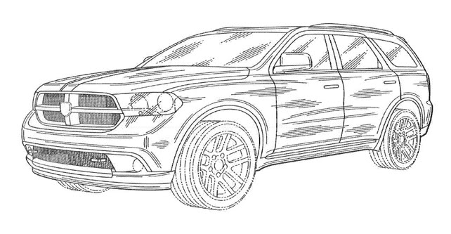 news  new dodge suv drawings revealed