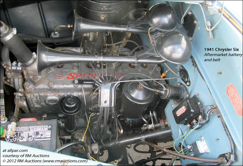 1941 chrylser six engine
