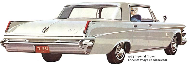 Imperial cars for 1963
