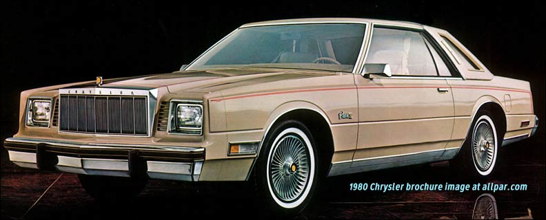 Used Jeeps Near Me >> 1980 Chrysler cars: LeBaron, Newport, New Yorker, Cordoba