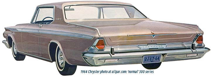 1964 chrysler car