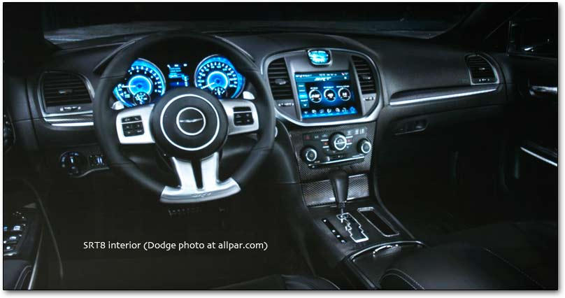 SRT8 dashboard