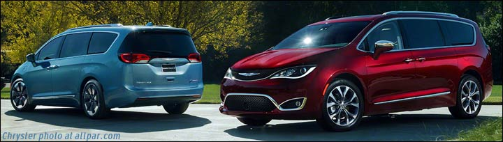 2017 Chrysler minivans - Pacifica