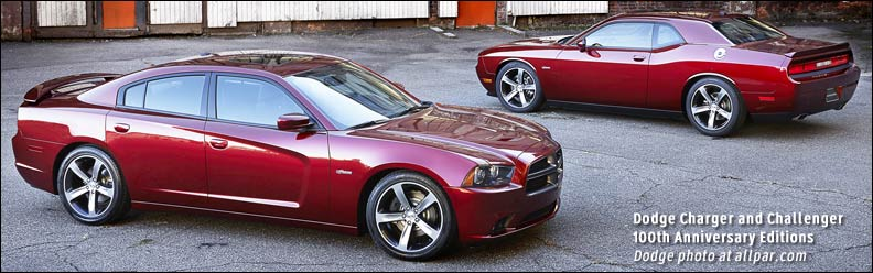 100th Anniversary Dodge cars
