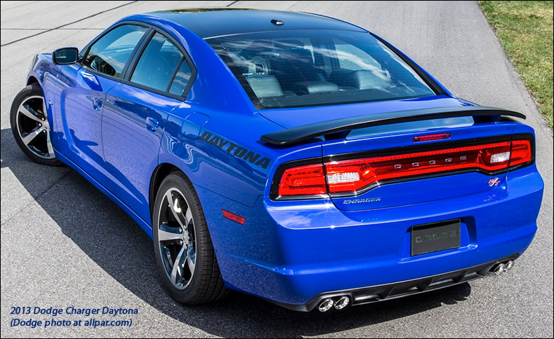 2013 Dodge Charger Daytona car