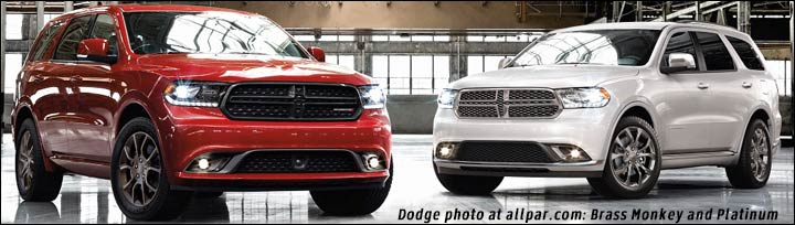 2016 Durango packages